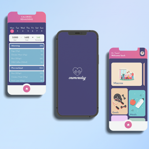 Onemoreday – Fitness Mobile Application Project