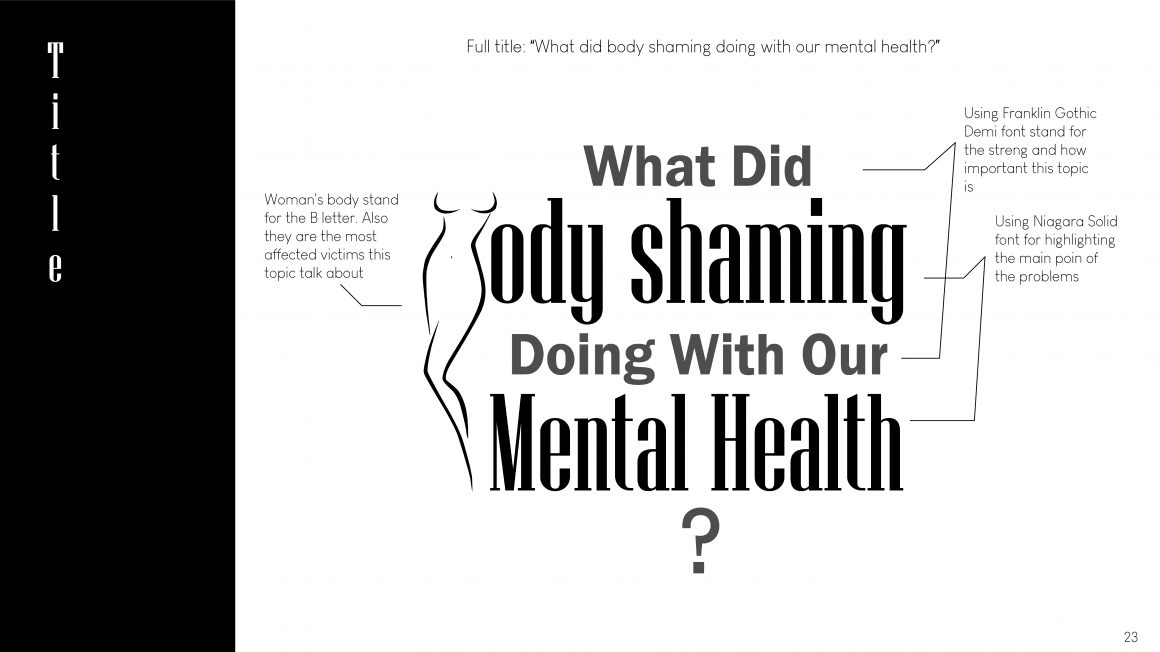 Body Shaming And Our Mental Health