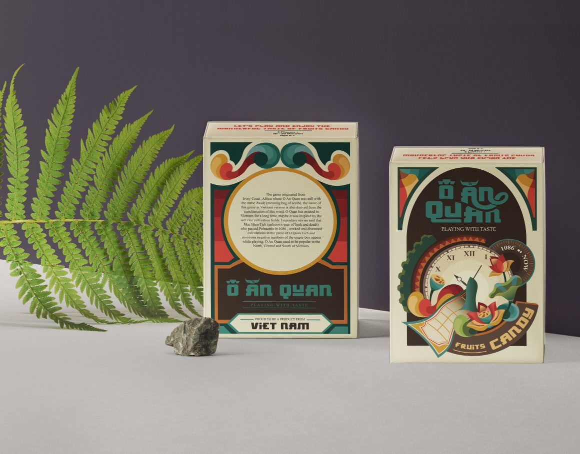 O AN QUAN – Vietnam Traditional Game and PACKAGING DESIGN