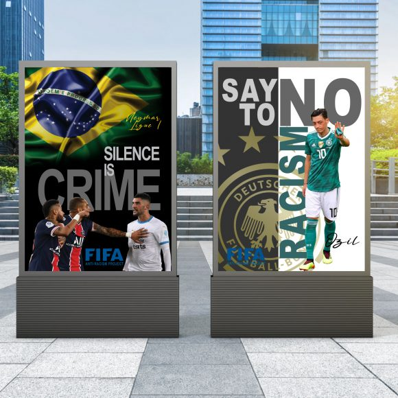 Solutions designed to condemn RACISM IN FOOTBALL.