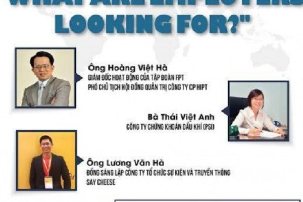 """[HN] – MIỄN PHÍ THAM DỰ – Seminar """"WHAT ARE EMPLOYERS LOOKING FOR?"""""""